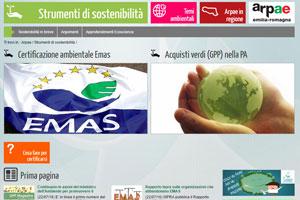 Strumenti di sostenibilità Arpae
