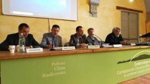 Luca Marchesi (il primo da sinistra)