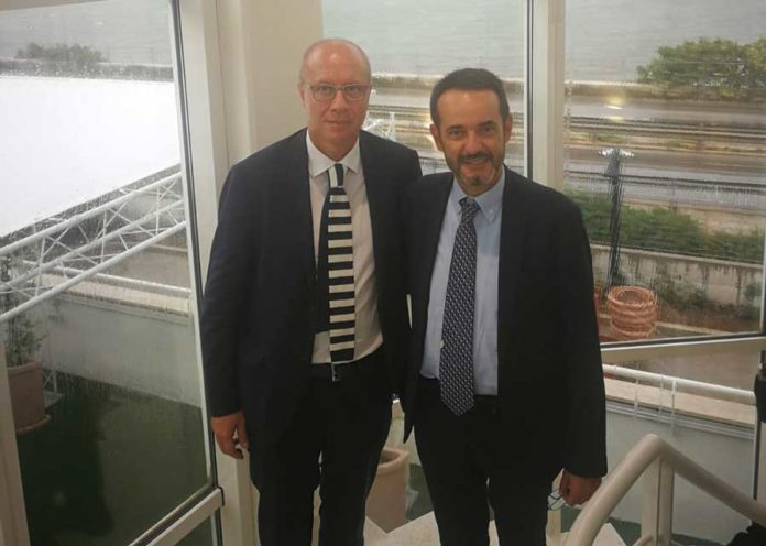 Stefano Laporta e Vito Bruno