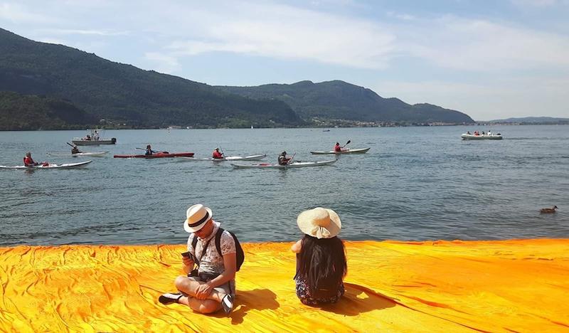 The Floating Pierce - Lago d'Iseo