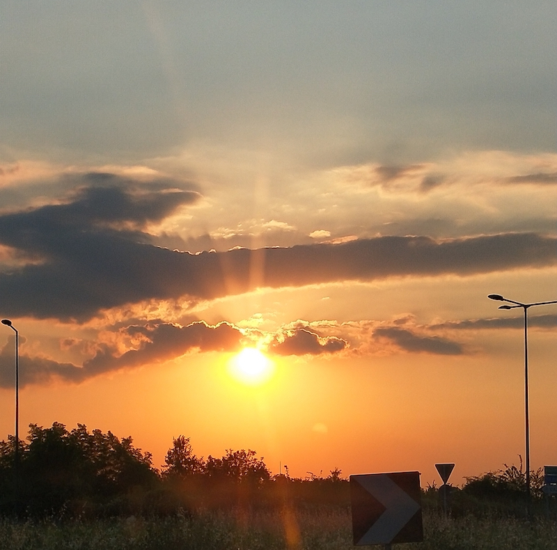 La meraviglia dell'alba