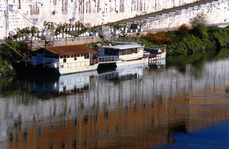 Lungo il fiume Tevere