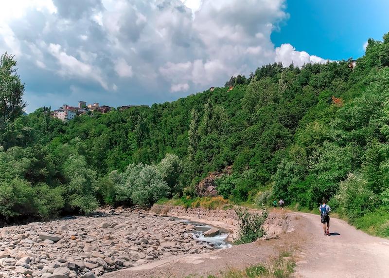 lungo il torrente Leo, Fanano (MO)