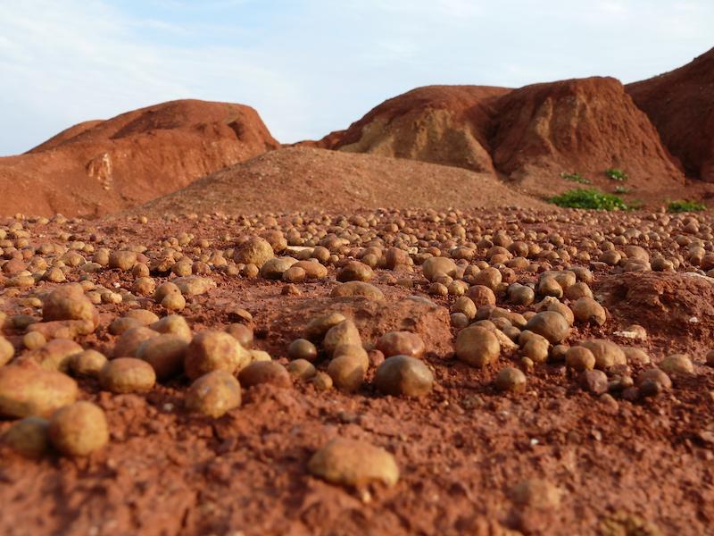 Marte ....chiama Terra ...cava dismessa di bauxite Otranto (LE)