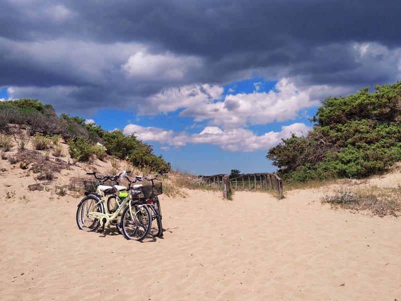 Al mare in bicicletta