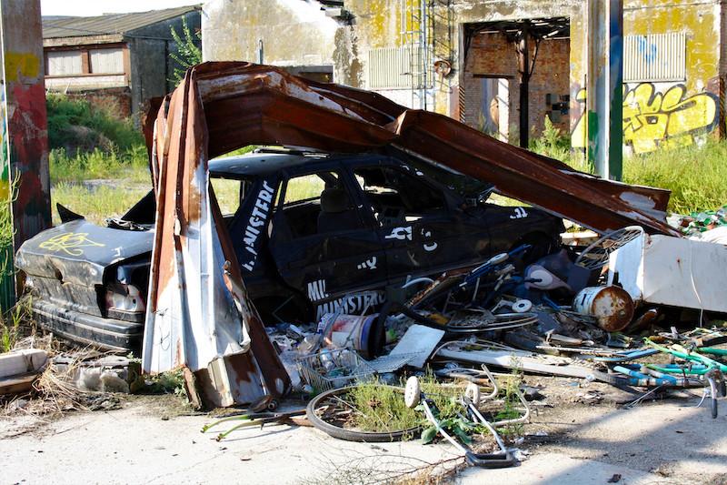 Porto Marghera_fabbrica abbandonata