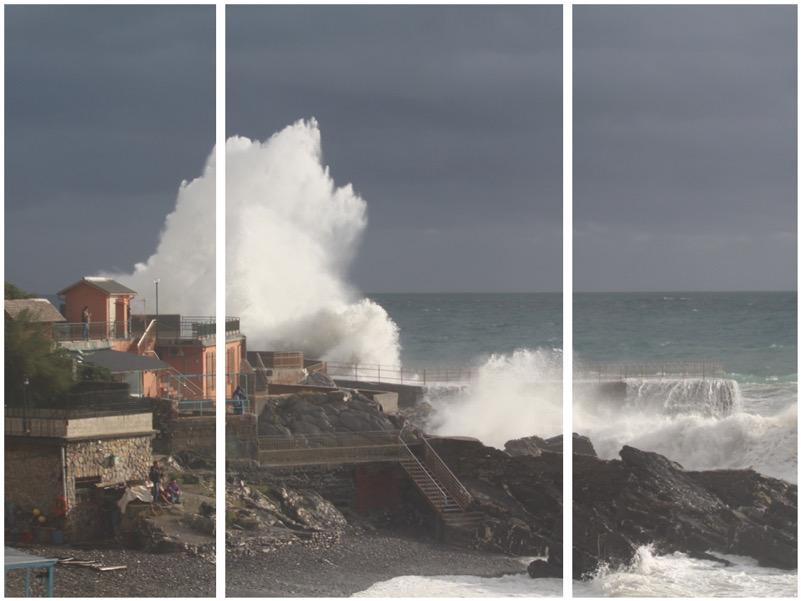 Mareggiata estrema del 4/11/2019 a Genova Quarto