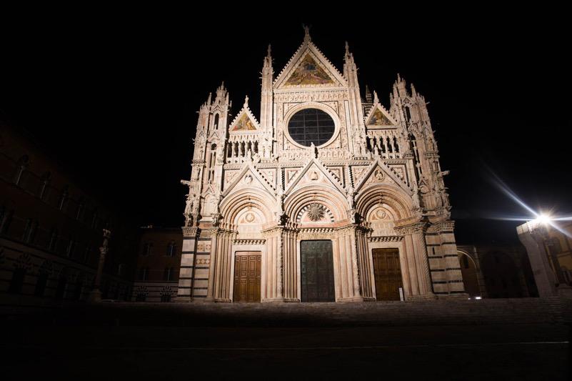 Il Duomo di Siena durante il lockdown