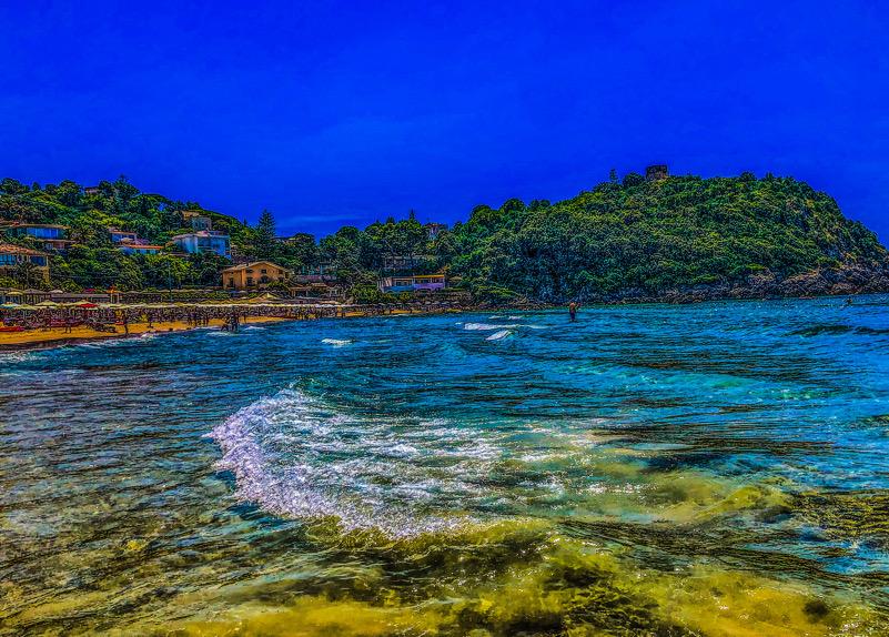 Il mare a Gaeta