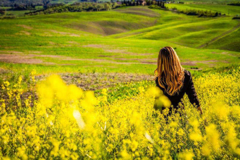 Primavera in Val D'Orcia