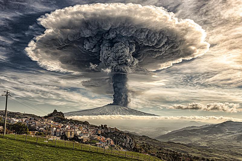 Etna Explosion