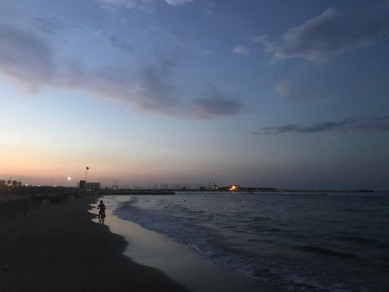 Peda-mare in riva all'Adriatico
