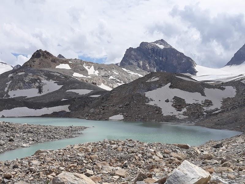 Lago e ghiacciaio Tsanteleina - Rhemes