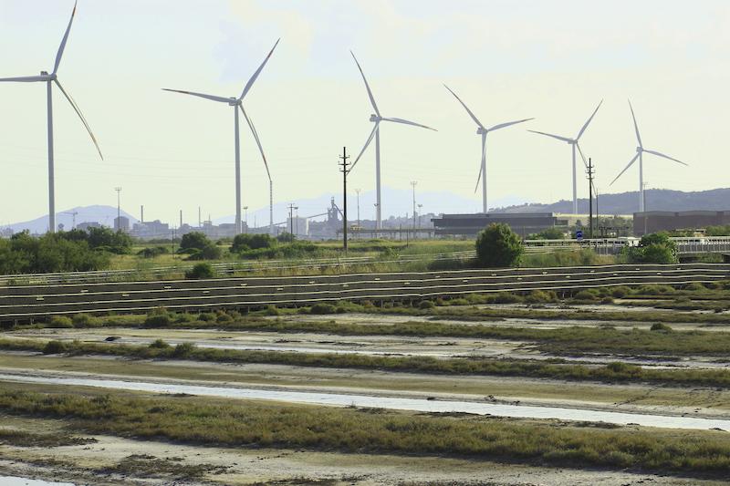 L'energia dell'aria e la riserva naturale