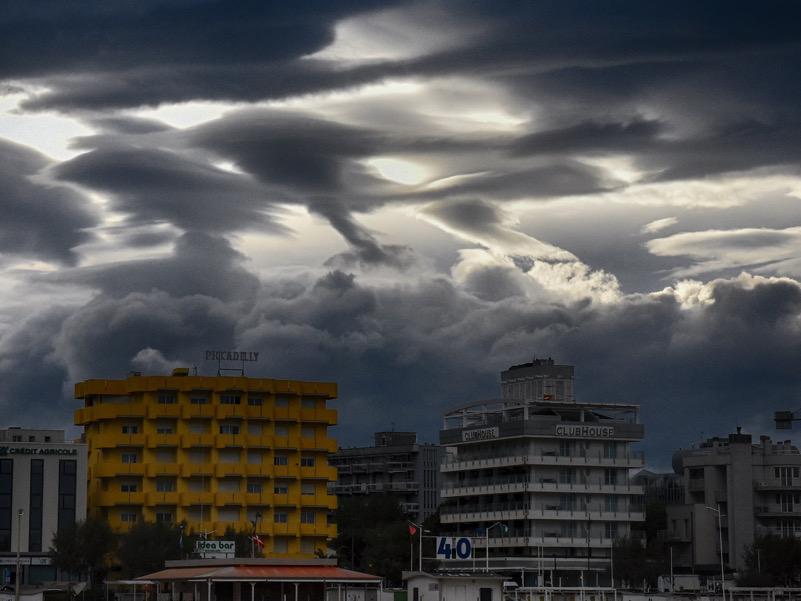 cielo di rimini prima di temporale