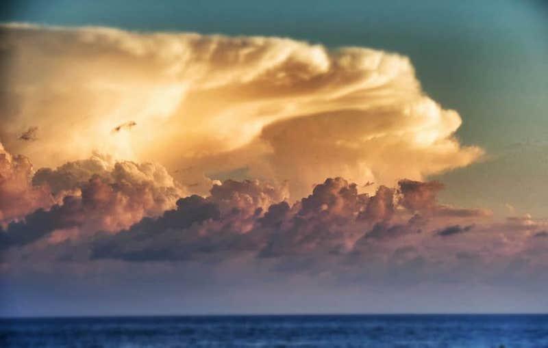 When god wears the sky - Sperlonga