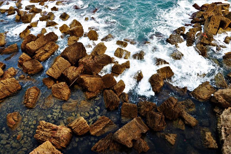 Il mare di Ortigia (Siracusa)