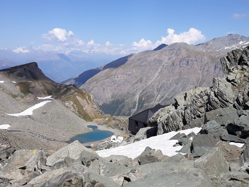 Rifugio degli Angeli e Lago Moriond - Mt. 2916 - Valgrisenche