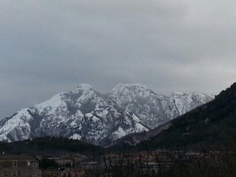paesaggio innevato Sieti di Giffoni Sei Casali (Salerno)