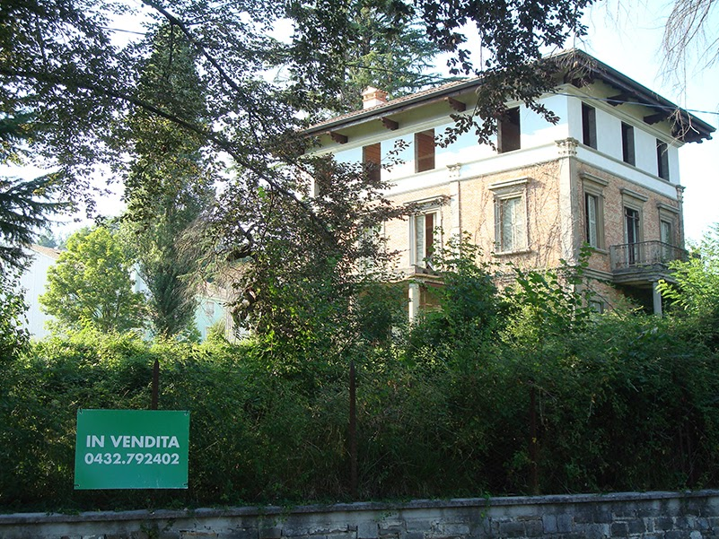 Villa Botto-Liverani - cascamificio Bulfons - Tarcento (UD)