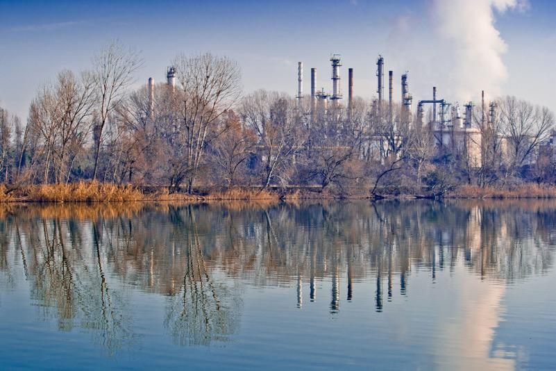 Polo industriale a Mantova