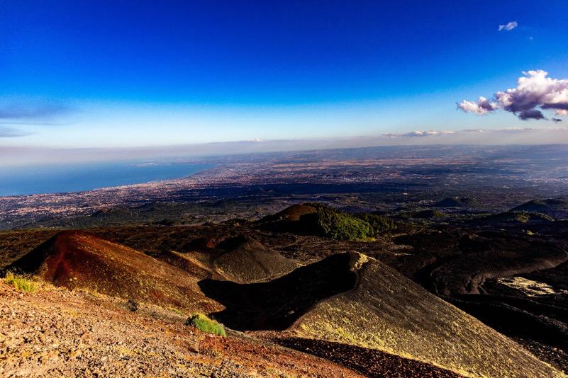 Catania... Vista Etna!