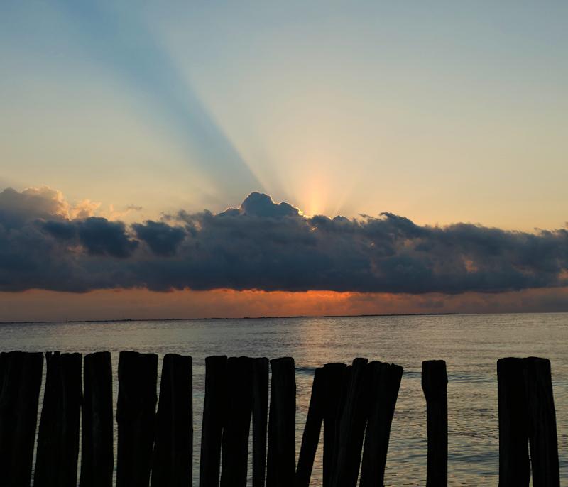 alba al Lido di Volano