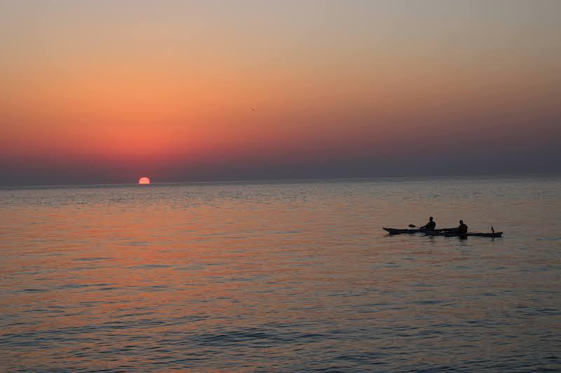 Alba sul mare - Sirolo, Riviera del Conero