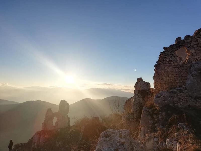 """""""L'infinito e oltre"""" - Rocca Calascio - Abruzzo"""
