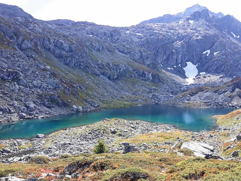 Lago Bellacomba inferiore - La Thuile