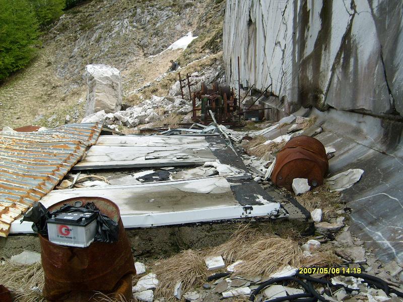 Cave di marmo in Apuane