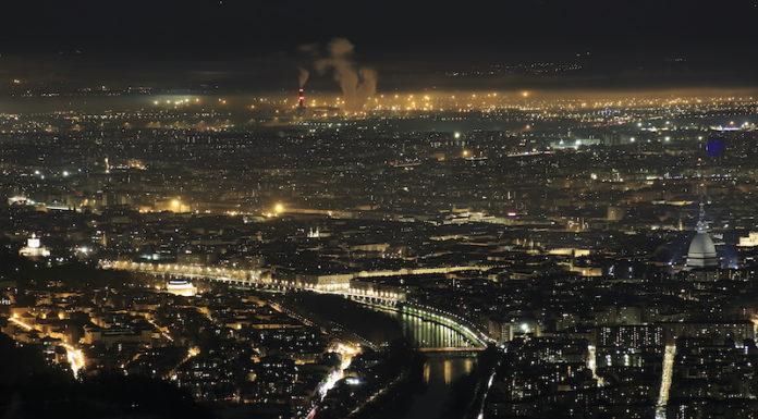 Torino in notturna