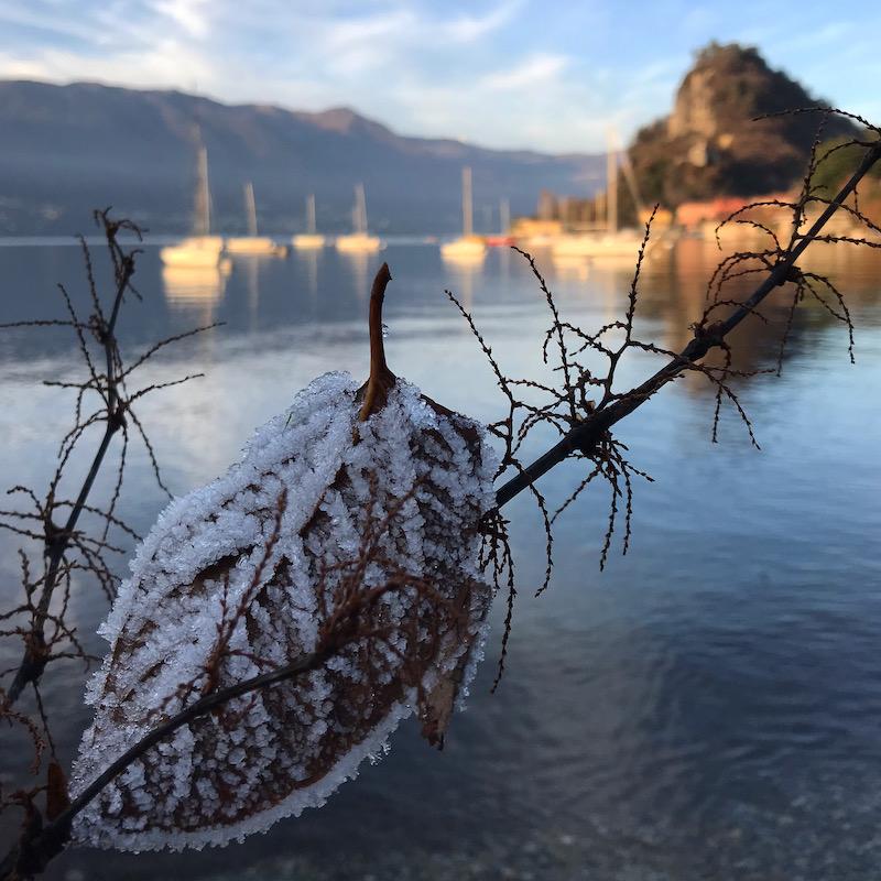Inverno sul lago Maggiore