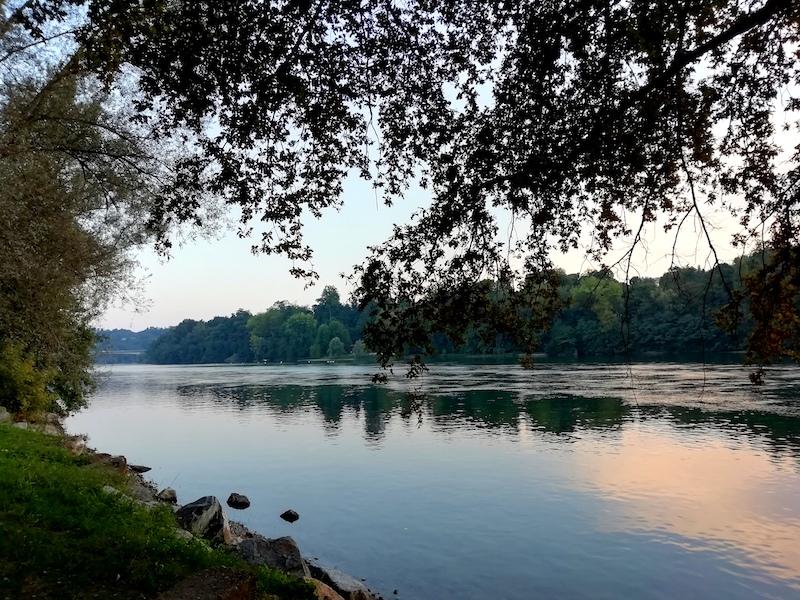 Nella calma del fiume