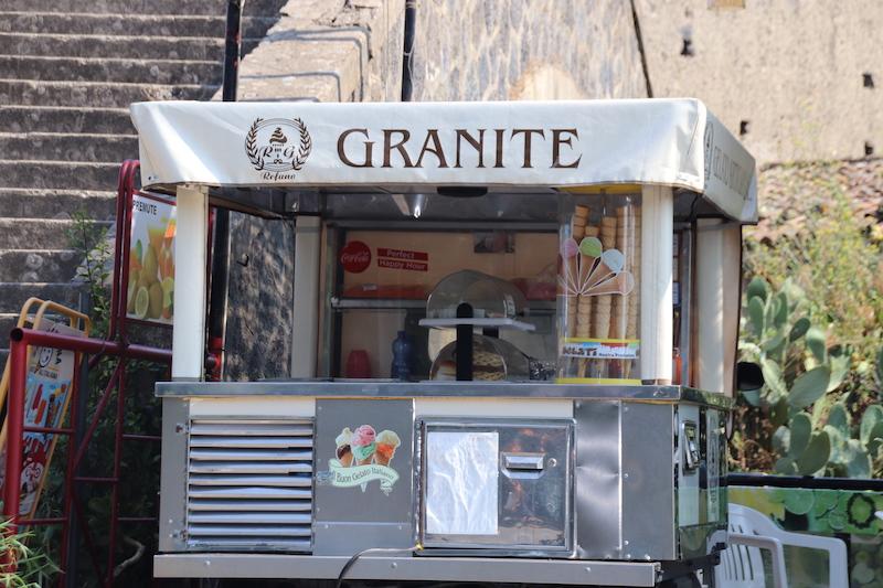 Chiosco delle granite, Motta Camastra (ME)