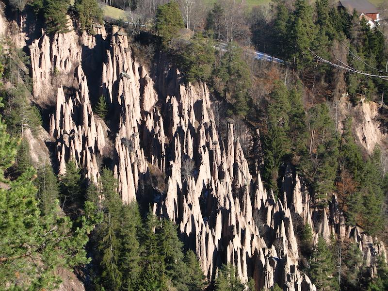 Descending -Piramidi di terra del Renon