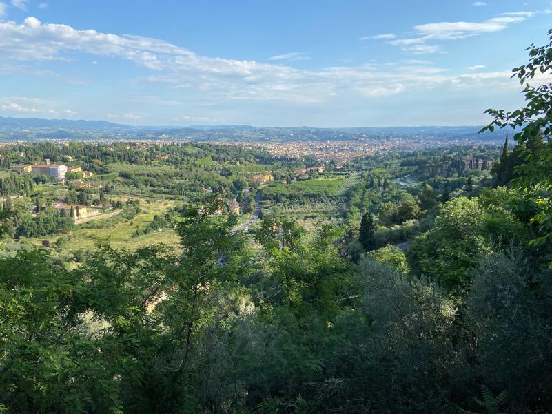 Firenze fra le colline
