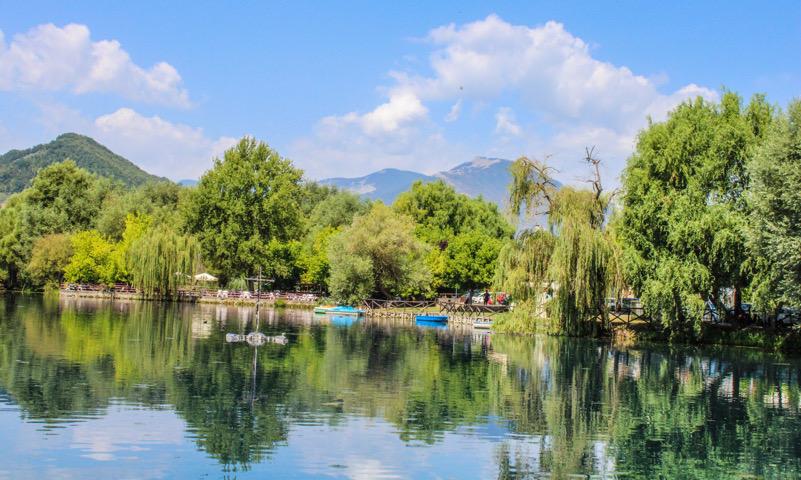 Lago di Posta Fibreno - Valle del fiume Liri