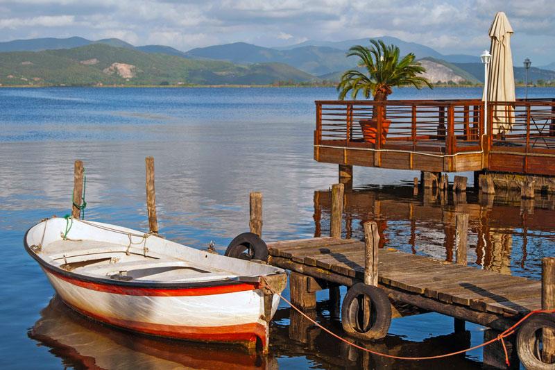"""Lago di Massaciuccoli - """"La barca a riposo"""" - Torre del Lago"""