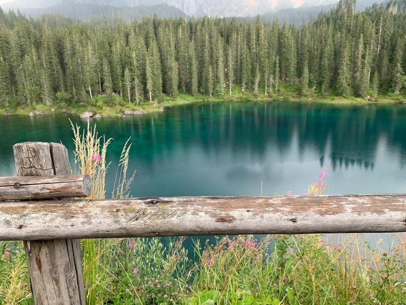 Carezza - il lago
