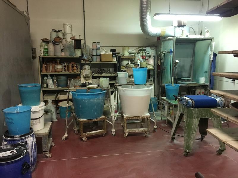 Produzione di ceramiche a Montelupo