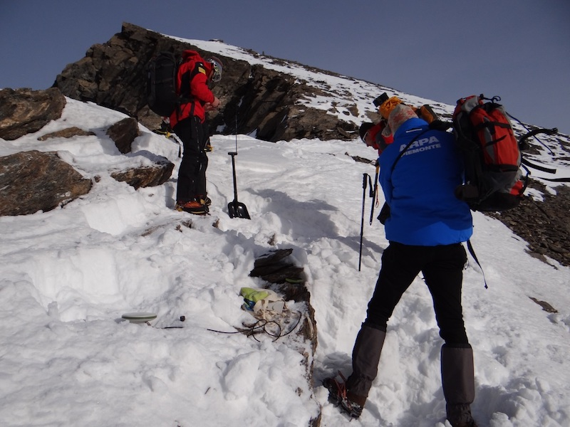 Monitoraggio geotecnico-termico della frana della cresta sud del M. Rocciamelone (Mompantero, TO)
