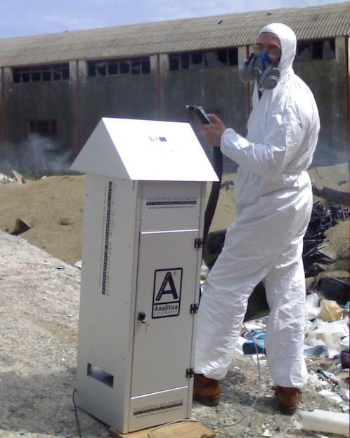 ARPACal campionamento inquinanti atmosferici