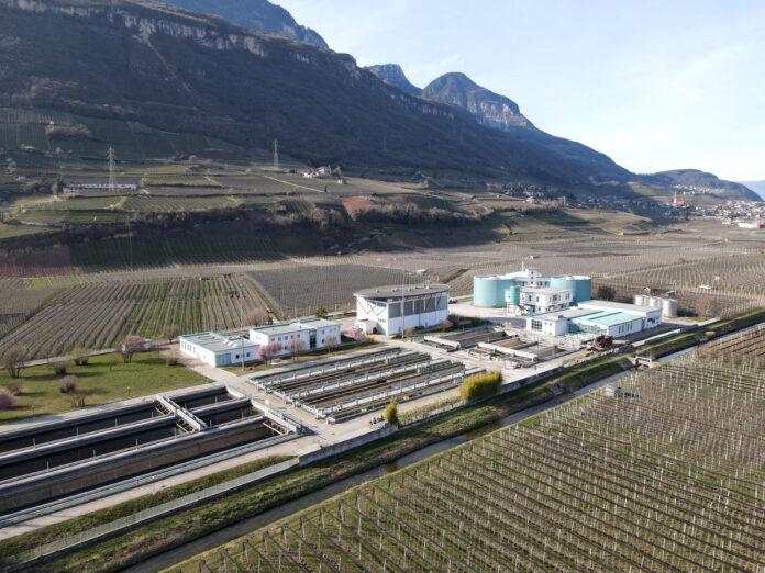 L'impianto di depurazione delle acque regflue a Termeno (Provincia di Bolzano)