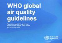 Qualità dell'aria, le nuove linee guida Oms