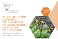 Metodologie e criteri di riferimento per la valutazione del danno ambientale ex Parte Sesta del D.lgs 152/2006